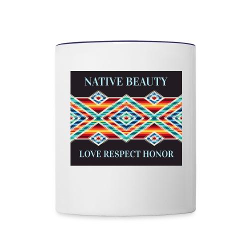 Native Beauty - Contrast Coffee Mug