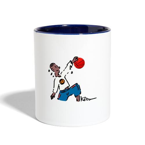 Basketball - Contrast Coffee Mug