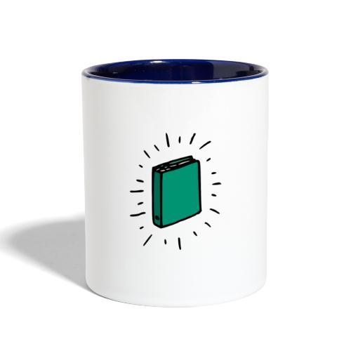 Book - Contrast Coffee Mug