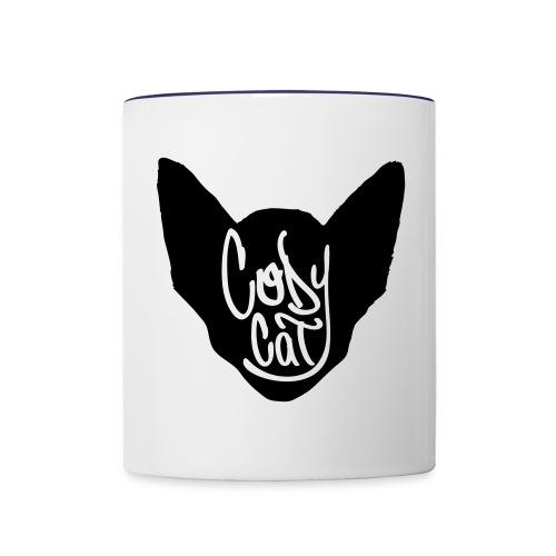 icon tag 28cm - Contrast Coffee Mug