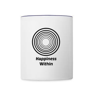 Happiness Within - Contrast Coffee Mug