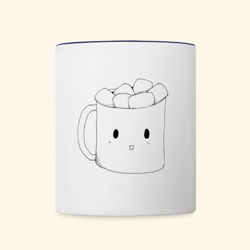 Happy Mug - Contrast Coffee Mug