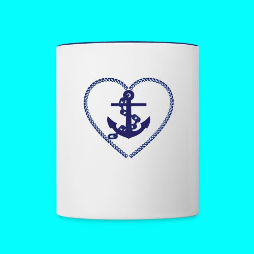 Forever Anchored - Contrast Coffee Mug