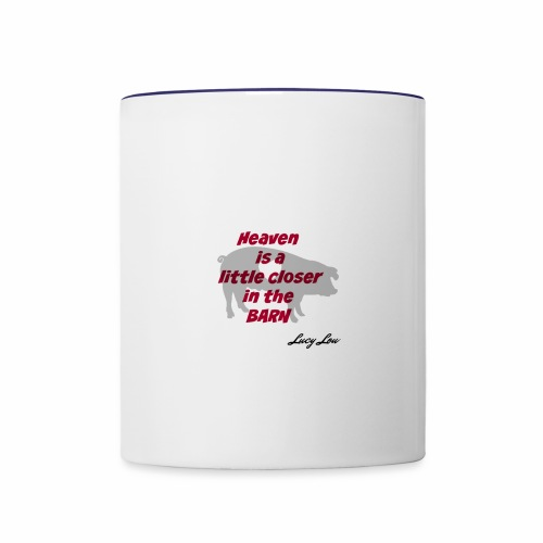 Heaven - Contrast Coffee Mug