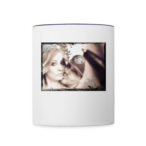 Anisha & Randy = ♡ Eternal - Contrast Coffee Mug