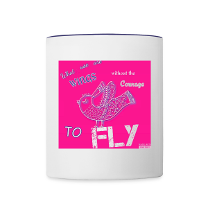 Fly - Contrast Coffee Mug