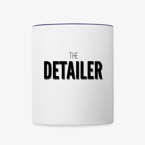 The Detailer Cup - Contrast Coffee Mug
