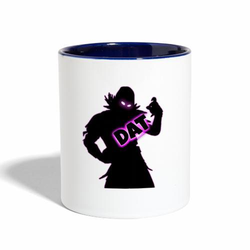 DAT Raven V2 png - Contrast Coffee Mug