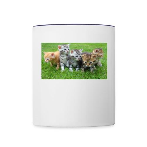 cute cats - Contrast Coffee Mug