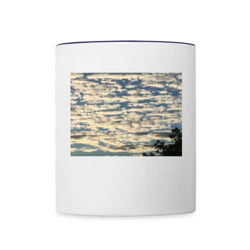 Clouds - Contrast Coffee Mug