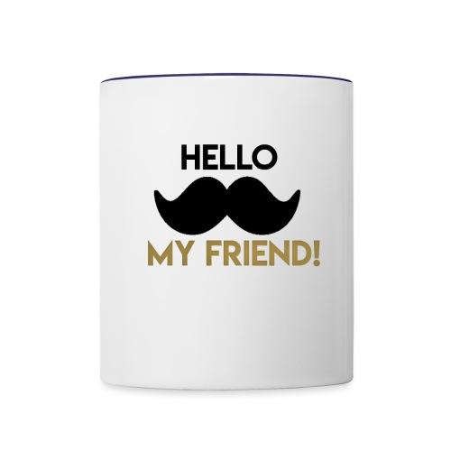 Hello my friend - Contrast Coffee Mug