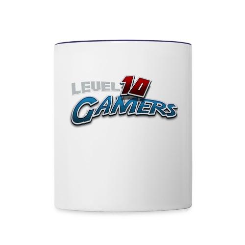 Level10Gamers Logo - Contrast Coffee Mug