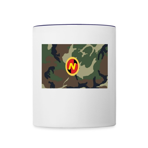 my logo for sale - Contrast Coffee Mug