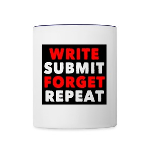 Write Submit Forget Repeat (Accessories) - Contrast Coffee Mug