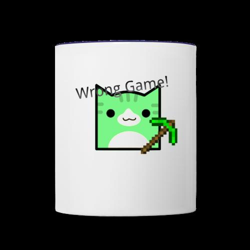 Wrong Game! - Contrast Coffee Mug