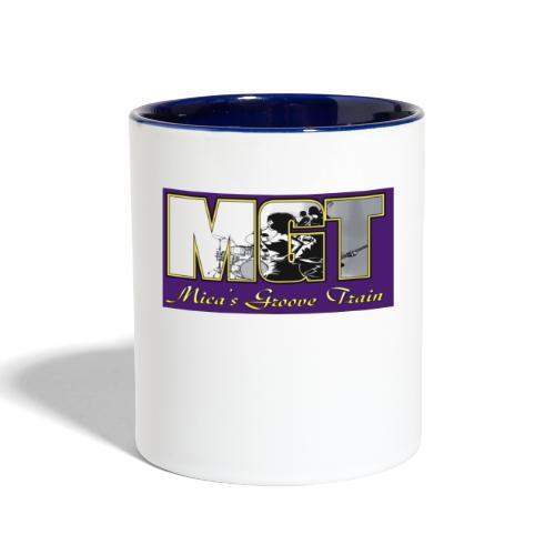 Mica's Groove Train Logo - Contrast Coffee Mug