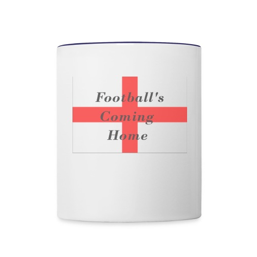 Football's coming Home! - Contrast Coffee Mug