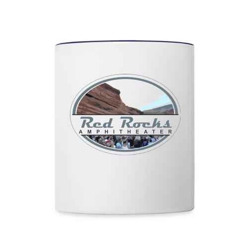 Red Rocks Amphitheater - Contrast Coffee Mug