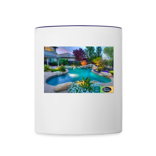 swimming pool - Contrast Coffee Mug