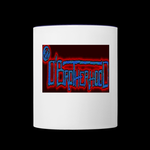 The D'BroTHerHooD Logo - Contrast Coffee Mug