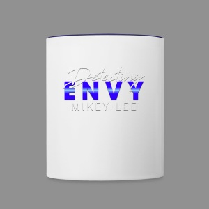 DETECTING ENVY TITLE - Contrast Coffee Mug