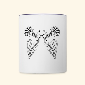 Tribalillies - Contrast Coffee Mug