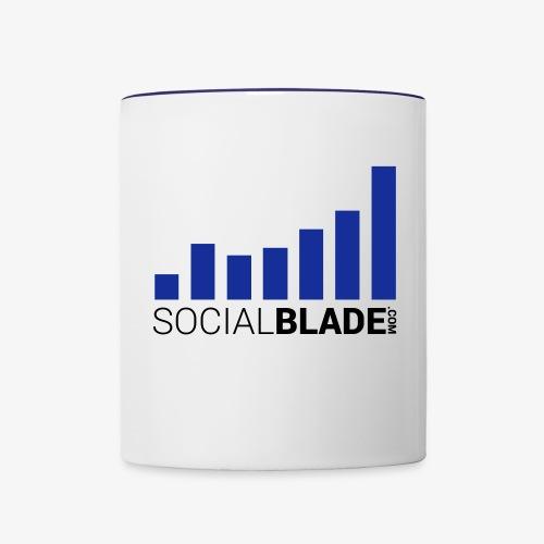 SocialBlade - Standard - Contrast Coffee Mug