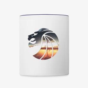 Seven Lions Logo - Contrast Coffee Mug