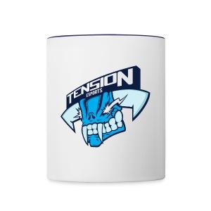 Tension eSports Logo - Contrast Coffee Mug