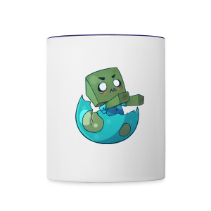Cartoon Zombie - Contrast Coffee Mug