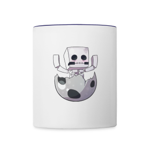 Cartoon Skeleton - Contrast Coffee Mug