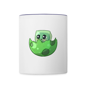 Cartoon Slime - Contrast Coffee Mug