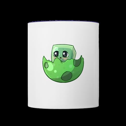 Cartoon Slime - Contrast Coffee Mug
