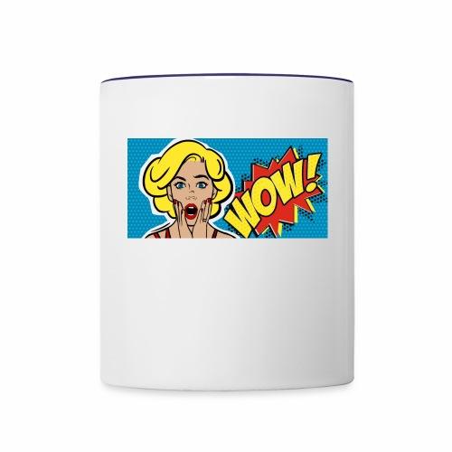WOW - Contrast Coffee Mug