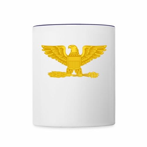 Colonel Gold Eagle Design - Contrast Coffee Mug