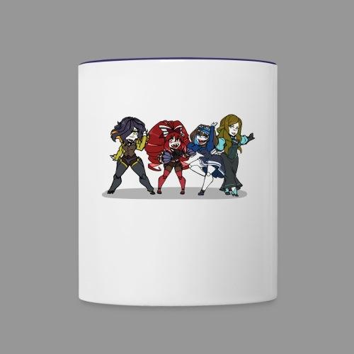 Chibi Autoscorers - Contrast Coffee Mug