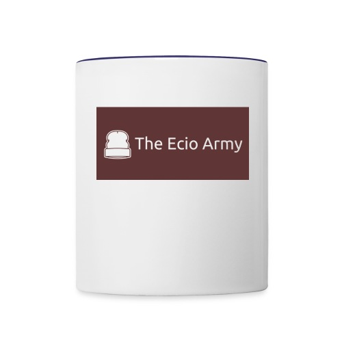 Limited Ecio Army t-shirt - Contrast Coffee Mug