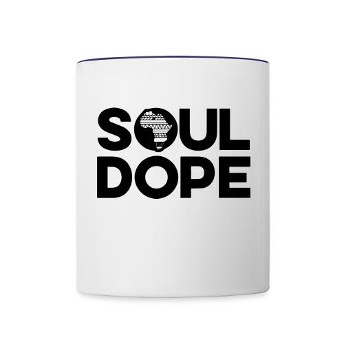 souldope Black Logo - Contrast Coffee Mug