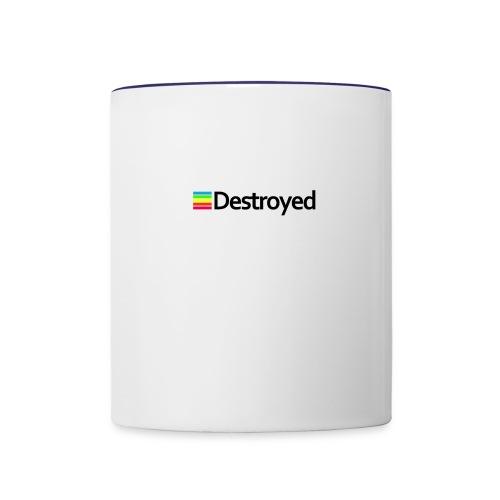 Polaroid Destroyed - Contrast Coffee Mug