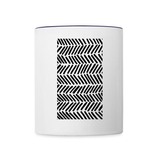 Stripe - Contrast Coffee Mug