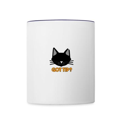 Got Tip? - Contrast Coffee Mug