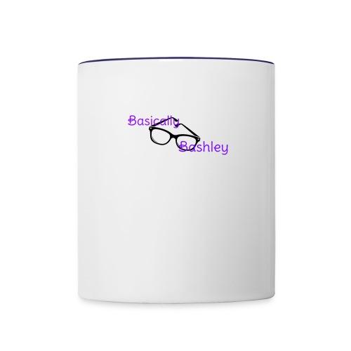 BasicallyBashleys Basic Design - Contrast Coffee Mug