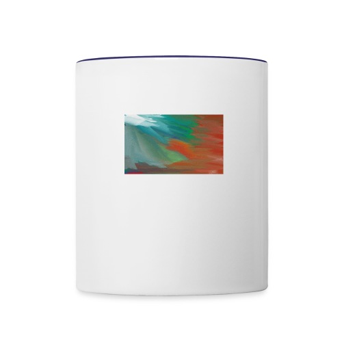 paint design - Contrast Coffee Mug