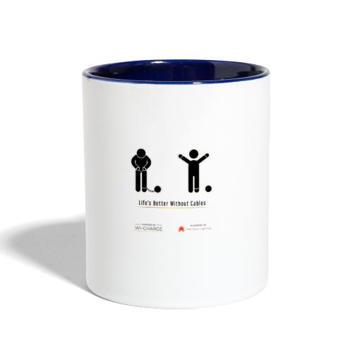 Life's better without cables: Prisoners - SELF - Contrast Coffee Mug