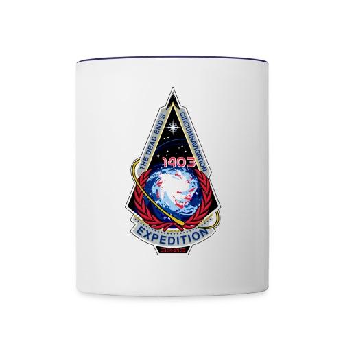 Dead Ends Circumnavigation Expedition Logo - Contrast Coffee Mug
