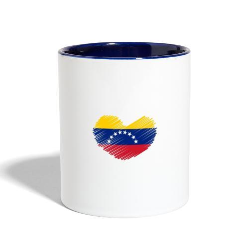 Venezuela - Contrast Coffee Mug