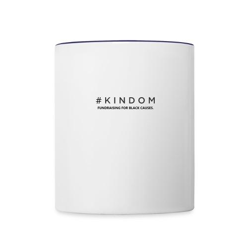 Kindom Hashtag - Contrast Coffee Mug