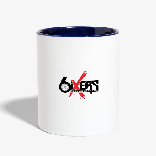 6ixersLogo - Contrast Coffee Mug