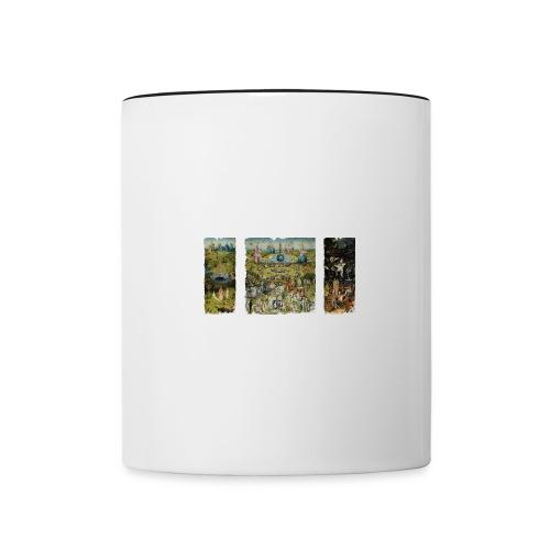 Garden Of Earthly Delights - Contrast Coffee Mug