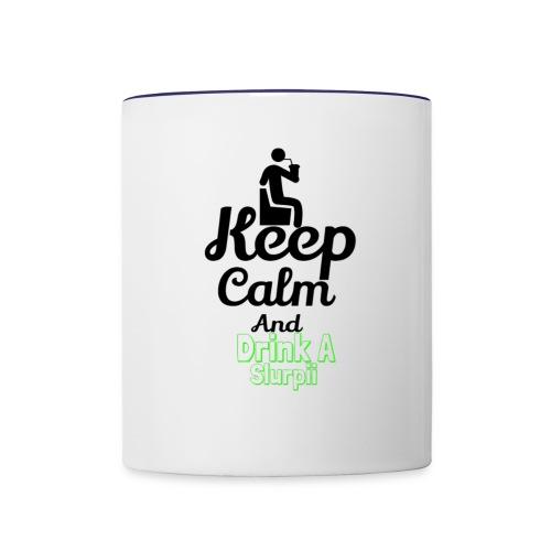 Slurpii logo 2 - Contrast Coffee Mug